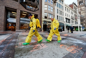 Boston Prepares To Re-Open Marathon Route After Bombing Investigation